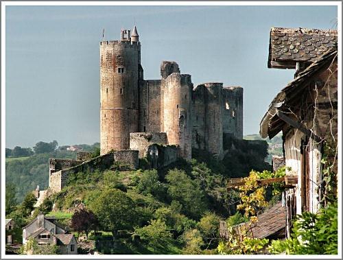 Najac Castle by markt