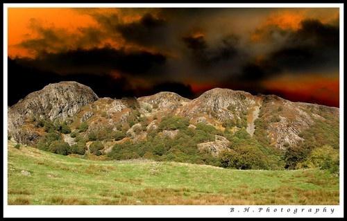 Sky on Fire by robert5