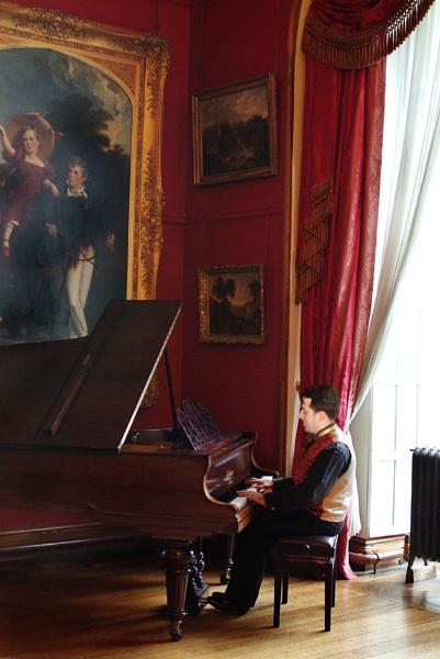 Artist with Music by debbiehardy