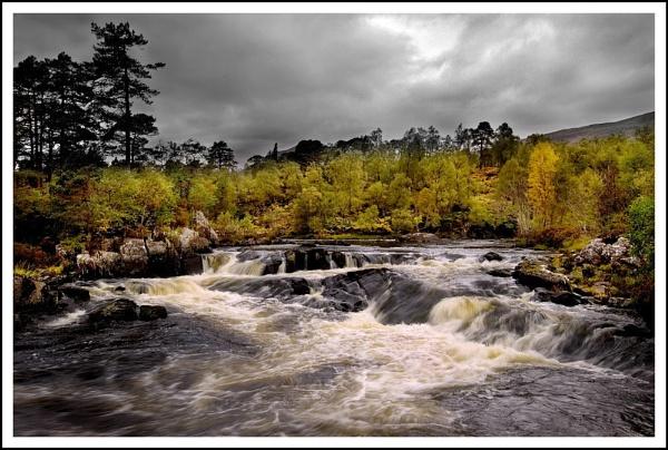 Glen Affric Falls by Scottishlandscapes