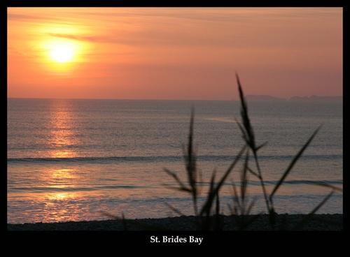 St Brides Bay by lloydy