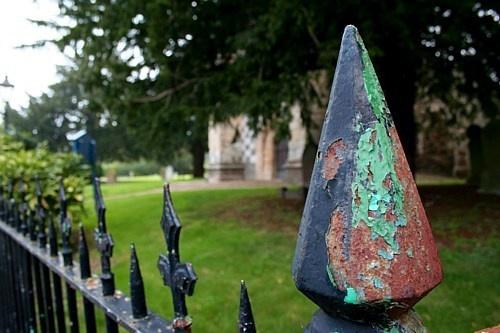 Churchyard Railing by clayman