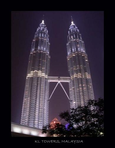 Petronas Towers, KL, Malaysia by Sweetpea