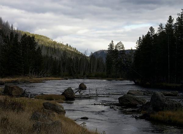 River Bend by gajj