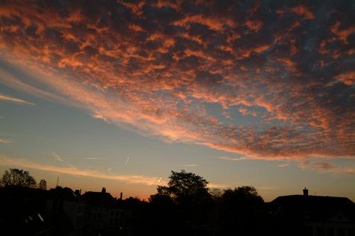 Sunrise in Brugge by Johan Vandenberghe