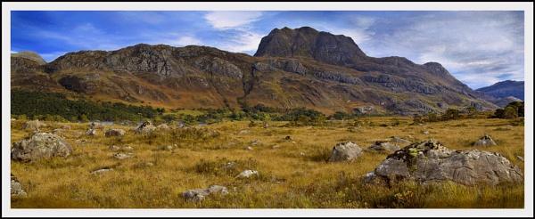 Slioch pano... by Scottishlandscapes