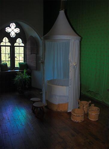 Inside Leeds Castle - Queens Bathroom by ReidFJR