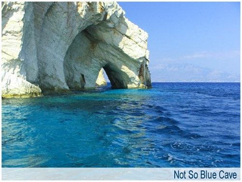 Not So Blue Cave by jonhayward