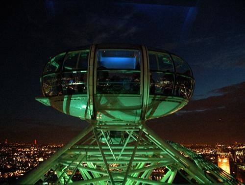 London Eye @ Night by soulhunter