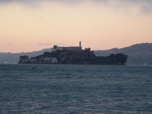 Alcatraz at Dusk by scottf75