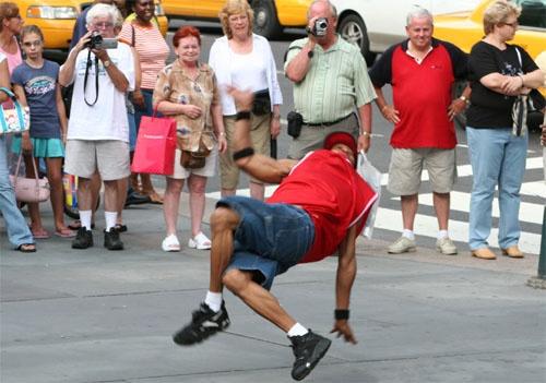 New York Street Dancer by jsabmsc