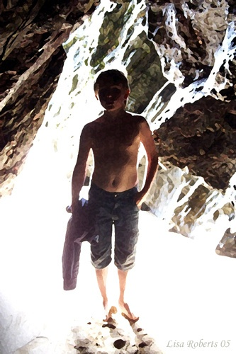 Cave boy by lisaroberts