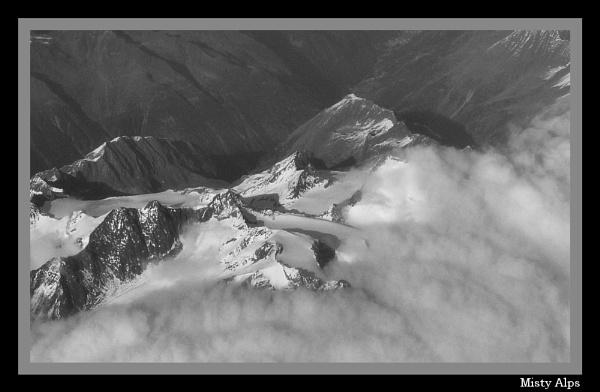 Misty Alps by jonhayward