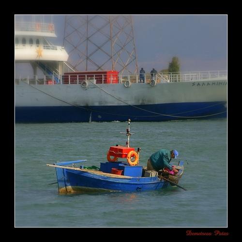 Fisherman... by Demetreos
