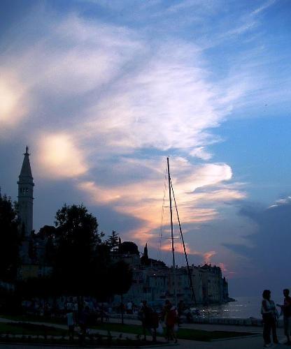 Nightfall in Rovinj by Michi