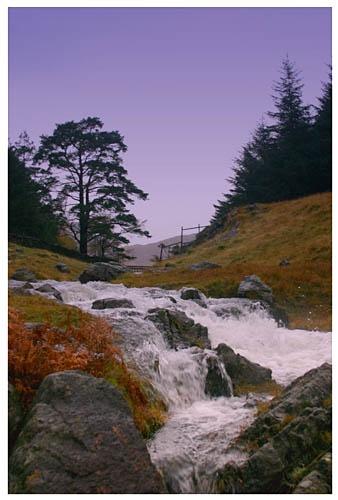 Rushing waters by davek