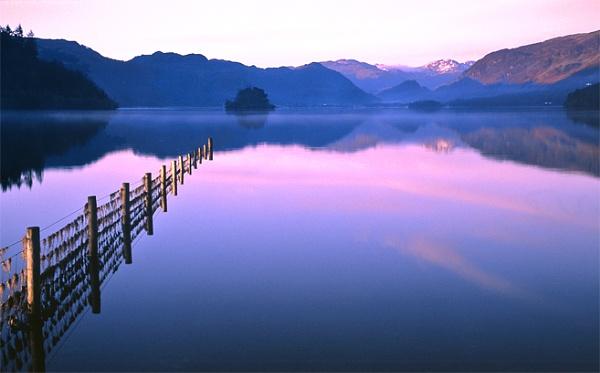 Derwentwater Dawn. by bill j