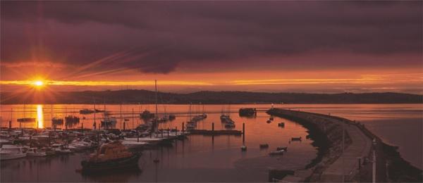 Brixham Sunset by bill j