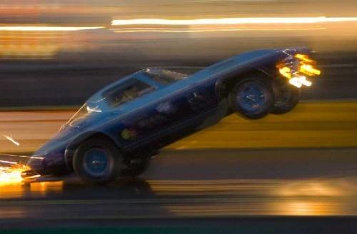 100mph Corvette Wheelie by the_lane