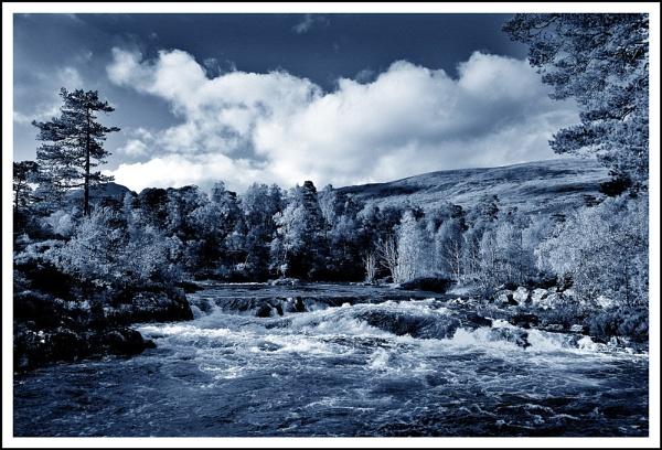River Affric blue... by Scottishlandscapes