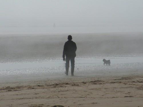 Walk on the beach by EmilyP