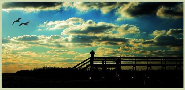 Sundown... by annefromleo