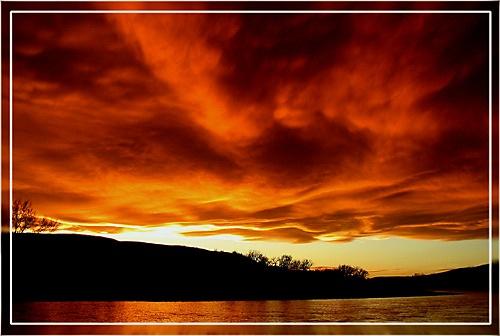 setting sun II by phisher
