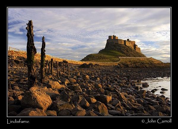 Lindisfarne Sunrise 2 by johnc1711