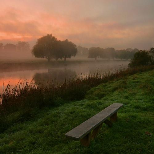 Hampton Wick Pond by itsasetamendi