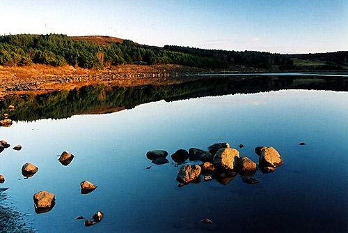 Still sunset at Hvaleyrarvatn by simon_stacey