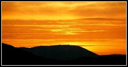 Mount Gabriel Sunset by DiggerDitch