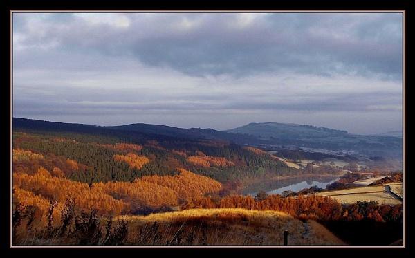 fernilee reservoir. by sunshot