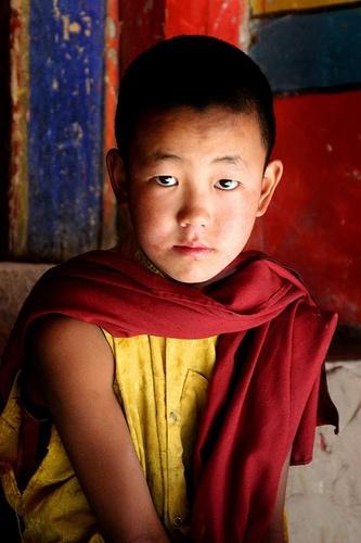 Boy monk by Kali