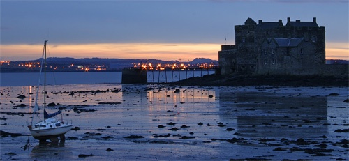 Blackness Castle at Dawn by Sago