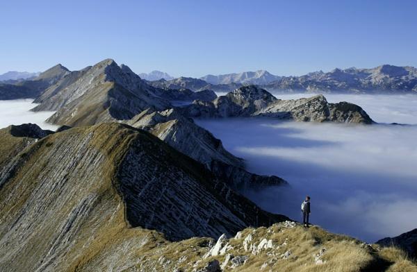 Julian Alps, Slovenia by philhowe