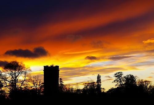 sunset by johnbushell