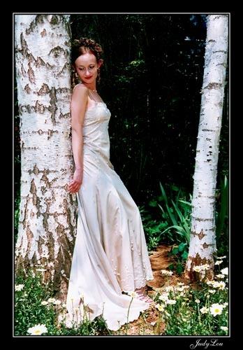 Lady & Trees by LourensdB