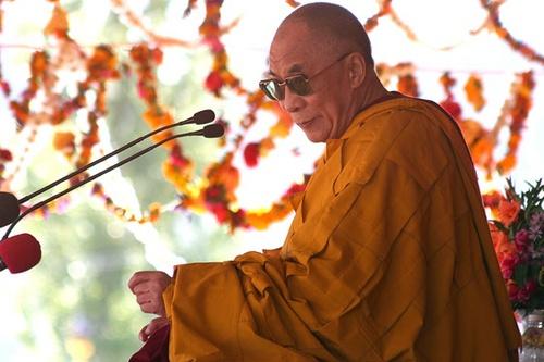 The Dalai Lama by Kali