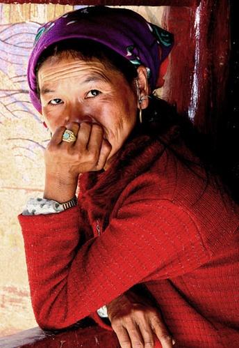 mountain woman by Kali