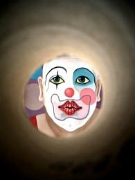 Clown through the looking Glass