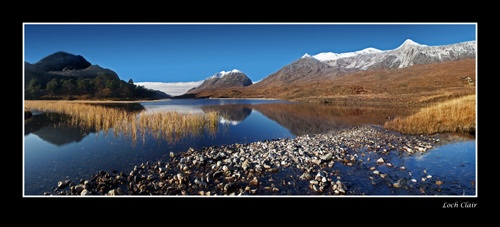 Loch Clair by tonyheps