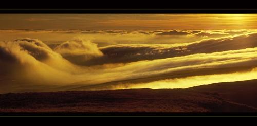 Golden Cloudscape by jond