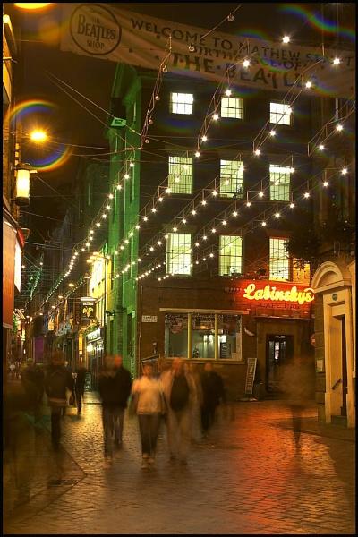 Mathew Street by Anthony