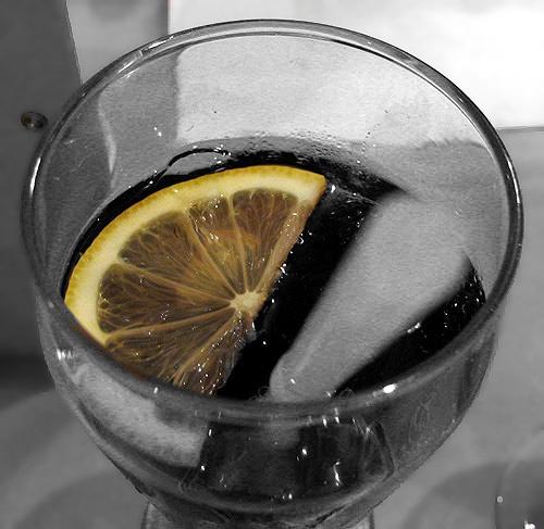 Coke and Lemon II by VinceP