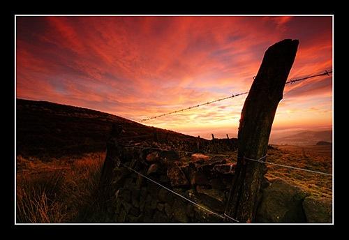 Hathersage Sunset by norick1