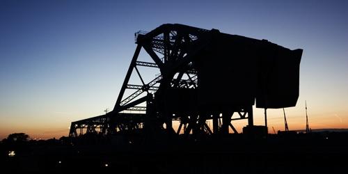 Sunset Bridge by ghibby