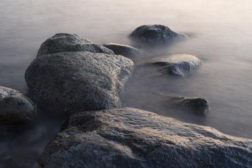Misty Stones by ghibby