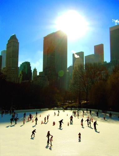 Ice Skating by MrSpencer