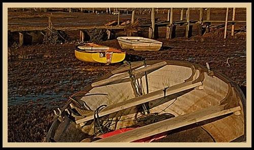 Low Tide by joan duckett