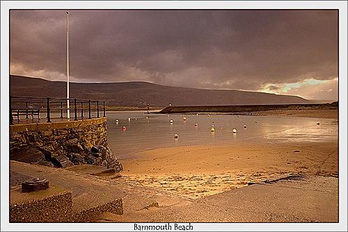 Brnmouth Beach by chrissycj